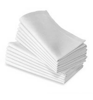 linen of polyester,  come napkins 20 anti table  Made calgary rental size, wrinkle linens in our one